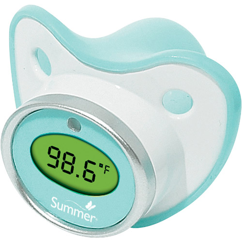 Summer Infant Pacifier Thermometer, 2 pc