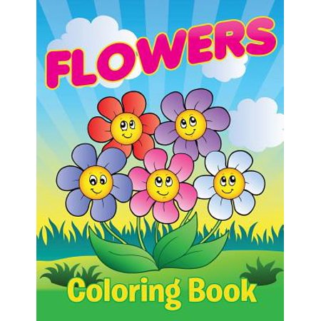 Flowers Coloring Book - Coloring Book Flowers