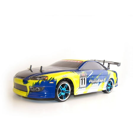 Image of 1/10th Pro Scale RCC94123Yellow On Road Drifting Car