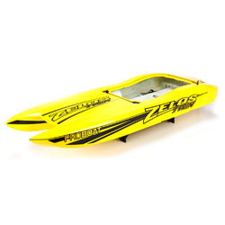 Pro Boat 281040 Zelos 36-inch Twin Catamaran Brushless (Hull and Decal) by Pro Boat