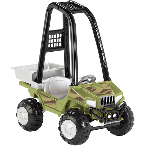American Plastic Toys Camo Utility ATV Ride-On