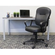 Boss Office Products Black Loop Arm Task Chair