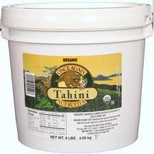 Once Again Tahini Sesame 9 Lb (Pack Of 9)
