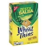 Nabisco Wheat Thins Zesty Salsa Snack Crackers, 9 Oz.