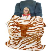 "Texas Longhorns Raschel Throw Blanket, 50"" x 60"""