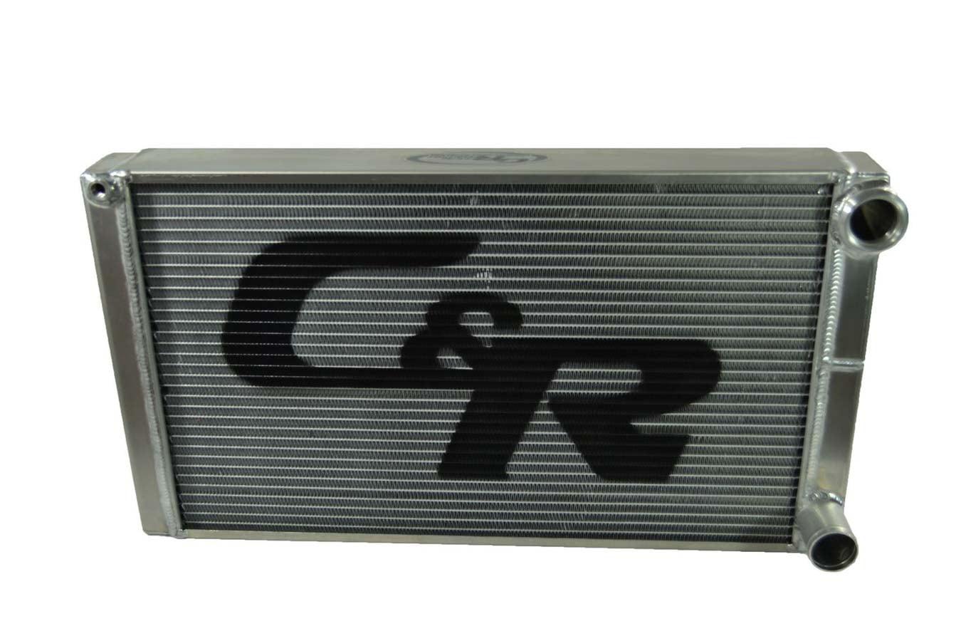 C AND R 15 in W x 28 in H x 3 in D Univ Alum Crossflow Radiator P N 826-15288 by C AND R Racing RADIATORS