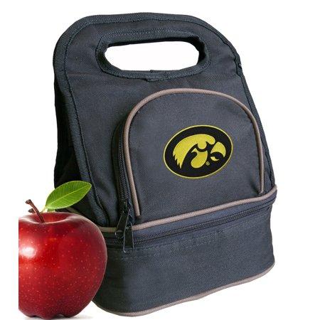 Iowa Hawkeyes Lunch Box - University of Iowa Lunch Bags Iowa Hawkeyes Lunch Box Cooler with Two Sections!