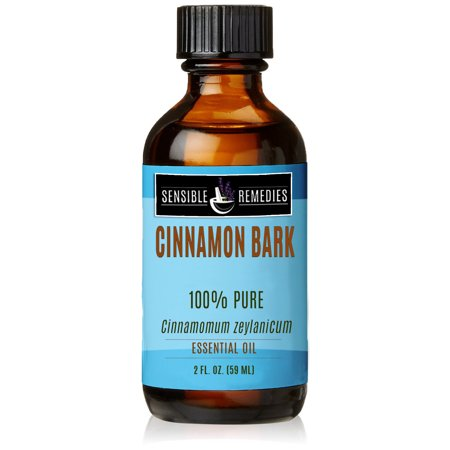Sensible Remedies Cinnamon Bark 100% Therapeutic Grade Essential Oil, 2 fl oz