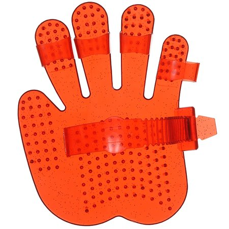 TOUGH 1 HORSE GROOMING HAND SHAPED ADULT SOFT FINGER JELLY CURRY COMB