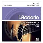 SET ACOUSTIC GUITAR 80/20 BRONZE 11-52 C