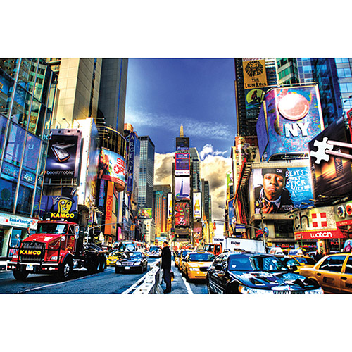 "Jigsaw Puzzle 204 Pieces 4""X6""-Times Square"