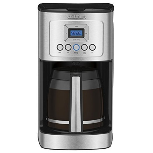Cuisinart 14 Cup Programmable Coffeemaker - Black/Stainless (Refurbished)