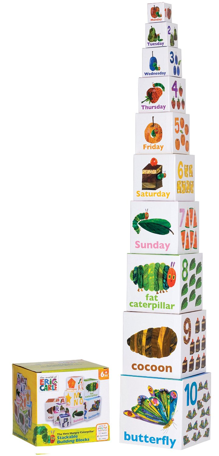 Kids Preferred World of Eric Carle The Very Hungry Caterpillar Stacking & Nesting Blocks