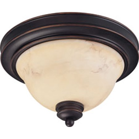 Replacement for 60/1405 ANASTASIA 2 LIGHT 11 INCH FLUSH DOME WITH HONEY MARBLE GLASS COPPER ESPRESSO TRADITIONAL replacement light bulb