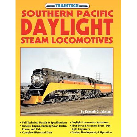 Canadian Pacific Steam Engine - Southern Pacific Daylight Steam Locomotive (Traintech)