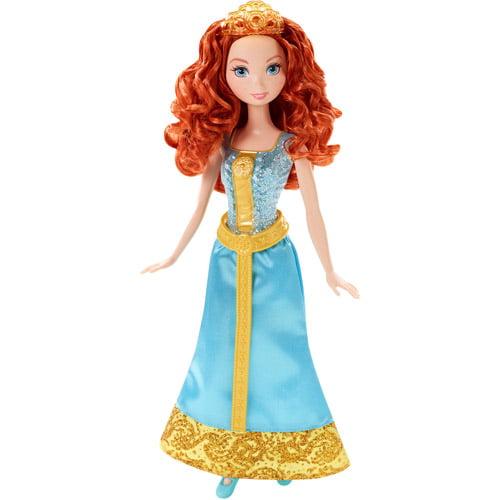 Disney Princess Sparkling Princess Merida Doll
