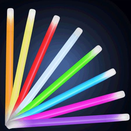 10 Inch Glow Stick Baton Pack of 25 - Glow Batons