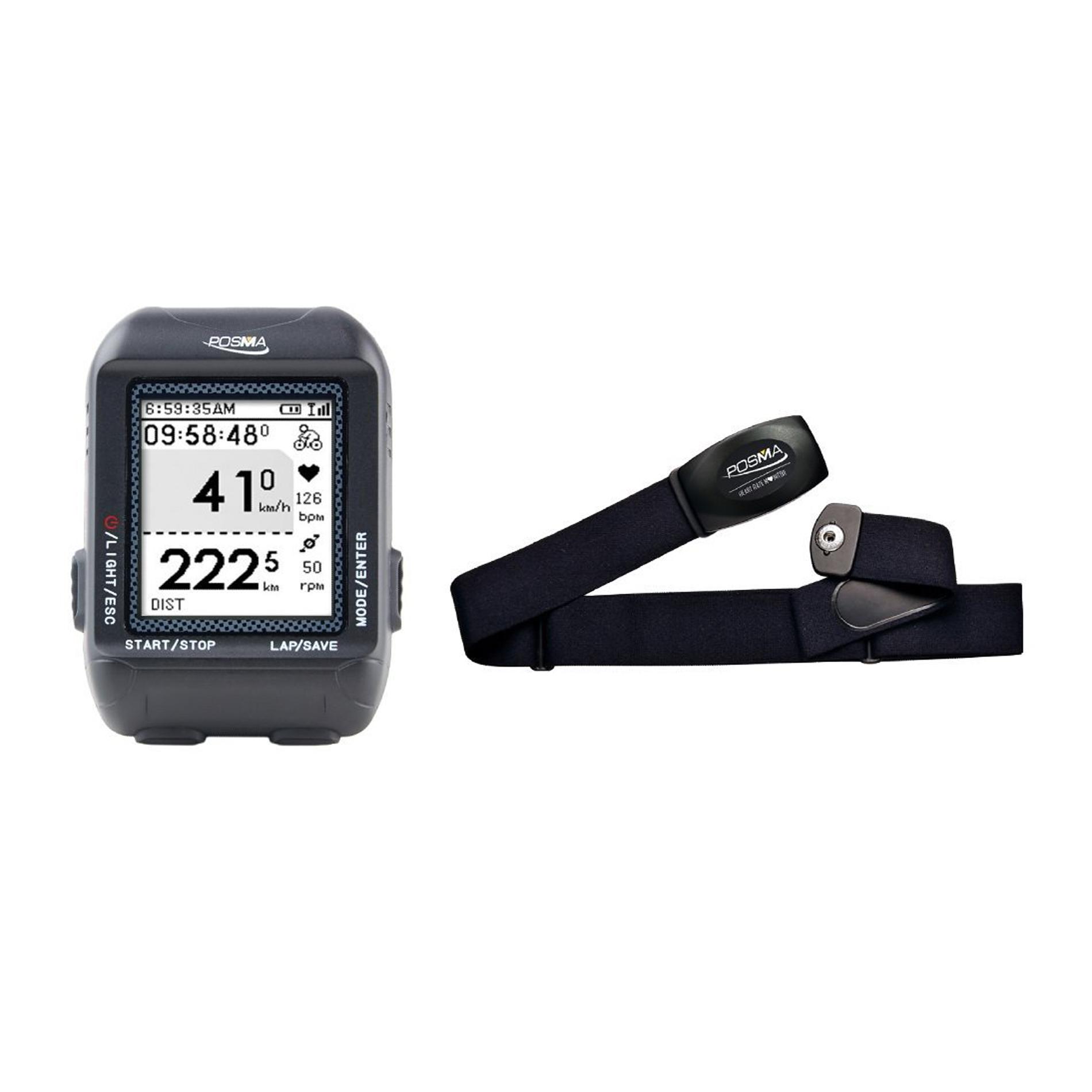 POSMA D3 GPS Cycling Bike Computer Speedometer Odometer w...