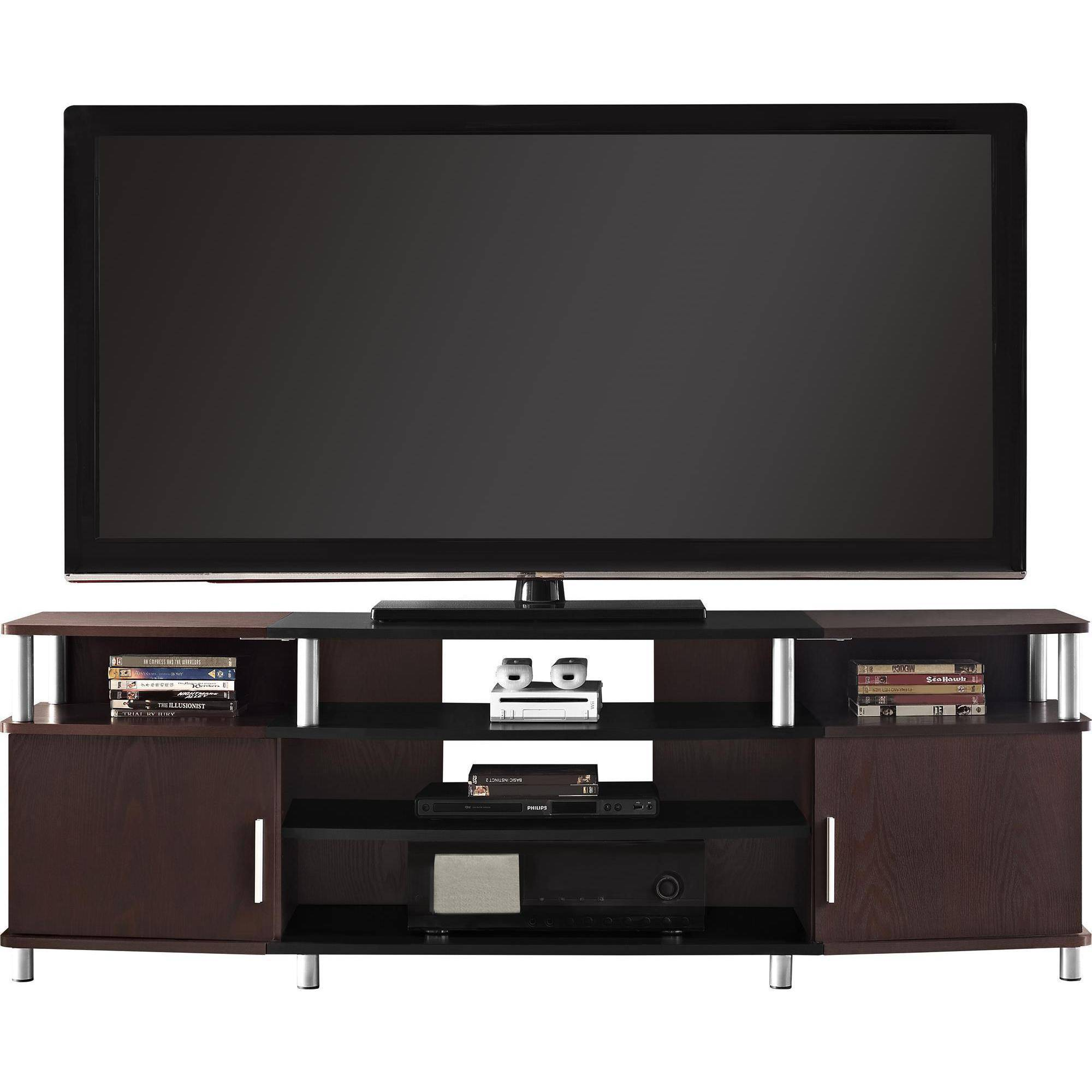 gaming tv stand TV Stands Flat Screens 70 Inch Door Shelf Cabinet Low Entertainment Media  Center