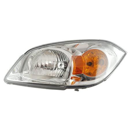 2005-2010 Chevrolet Cobalt w/o Bracket Cap Driver Left Side Headlight Lamp