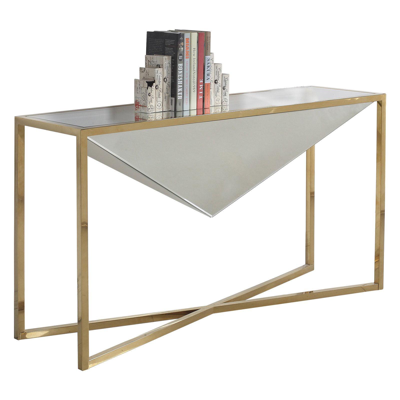 Meridian Furniture Inc Krystal Console Table