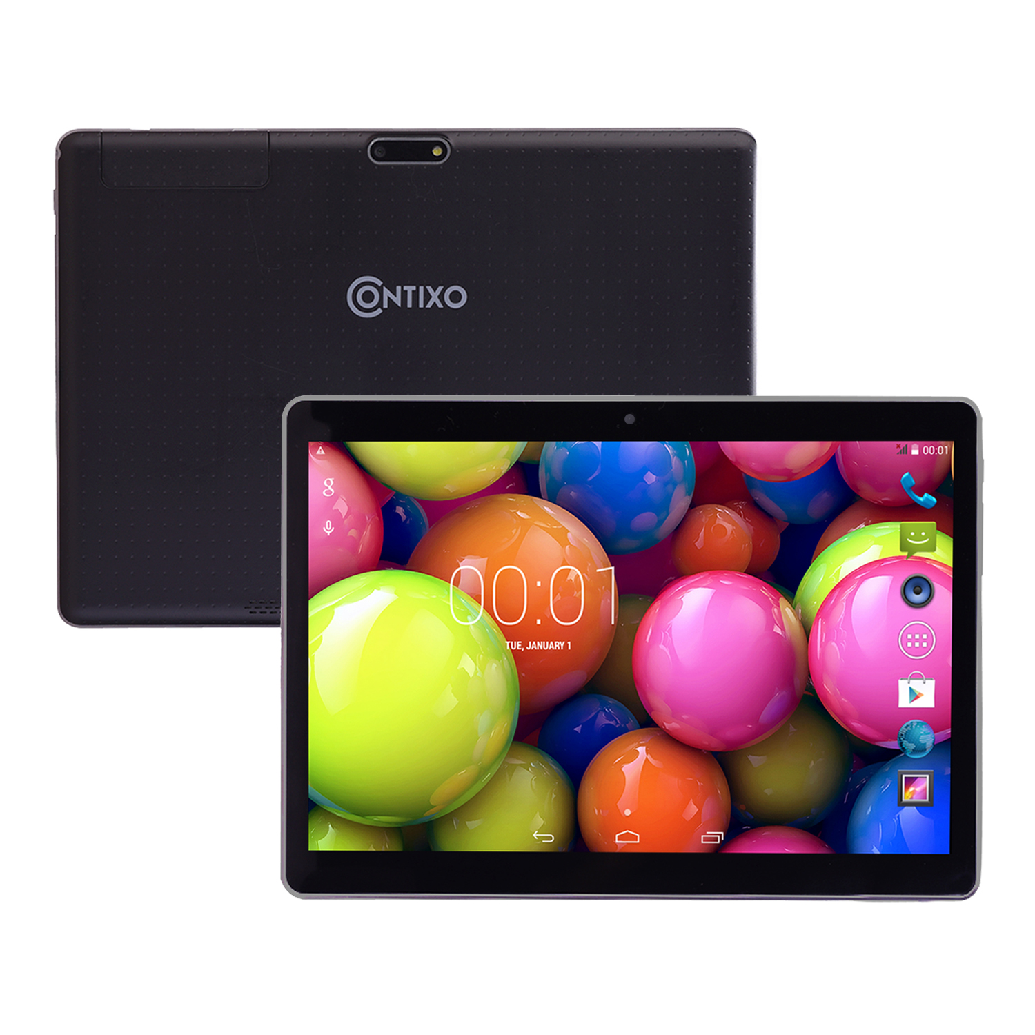 Contixo M96 Quad Core Android 4.4 Tablet, IPS 1280x800 Di...