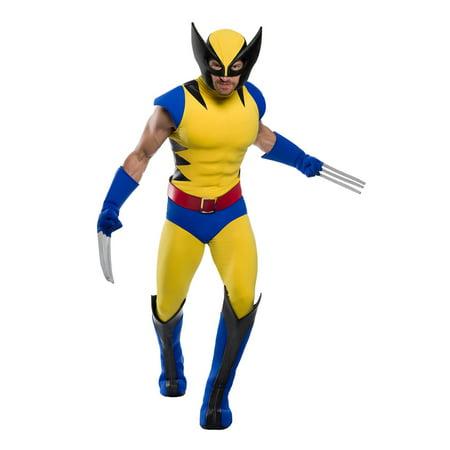 Marvel Plus Size Costumes (Premium Marvel Wolverine Plus Size Costume for Men)