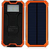 Solar Charger, PowerBen Solar External Battery Pack with ...