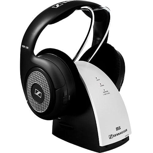 Sennheiser RS 130 Headphones full size radio wireless by Sennheiser