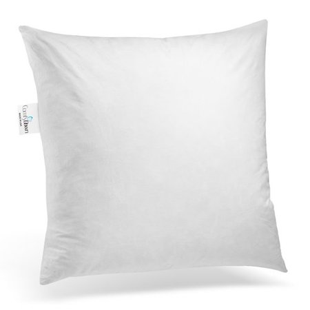 ComfyDown Pillow Inserts Cotton Throw Pillow ()
