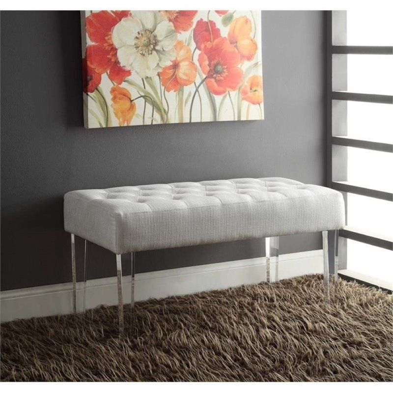Bowery Hill Bedroom Bench in White