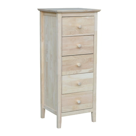 International Concepts 5 Drawer Lingerie Chest ()