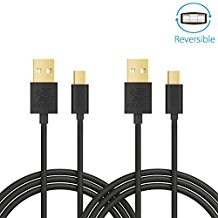 iXCC Freedom Series 6 Feet Reversible Micro USB to USB 2....