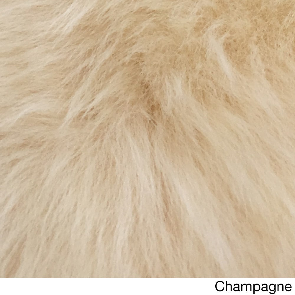 Spectrum Rugs Legacy Faux Fur Animal Skin Shag Rug (3' x 5') - 3' x 5'