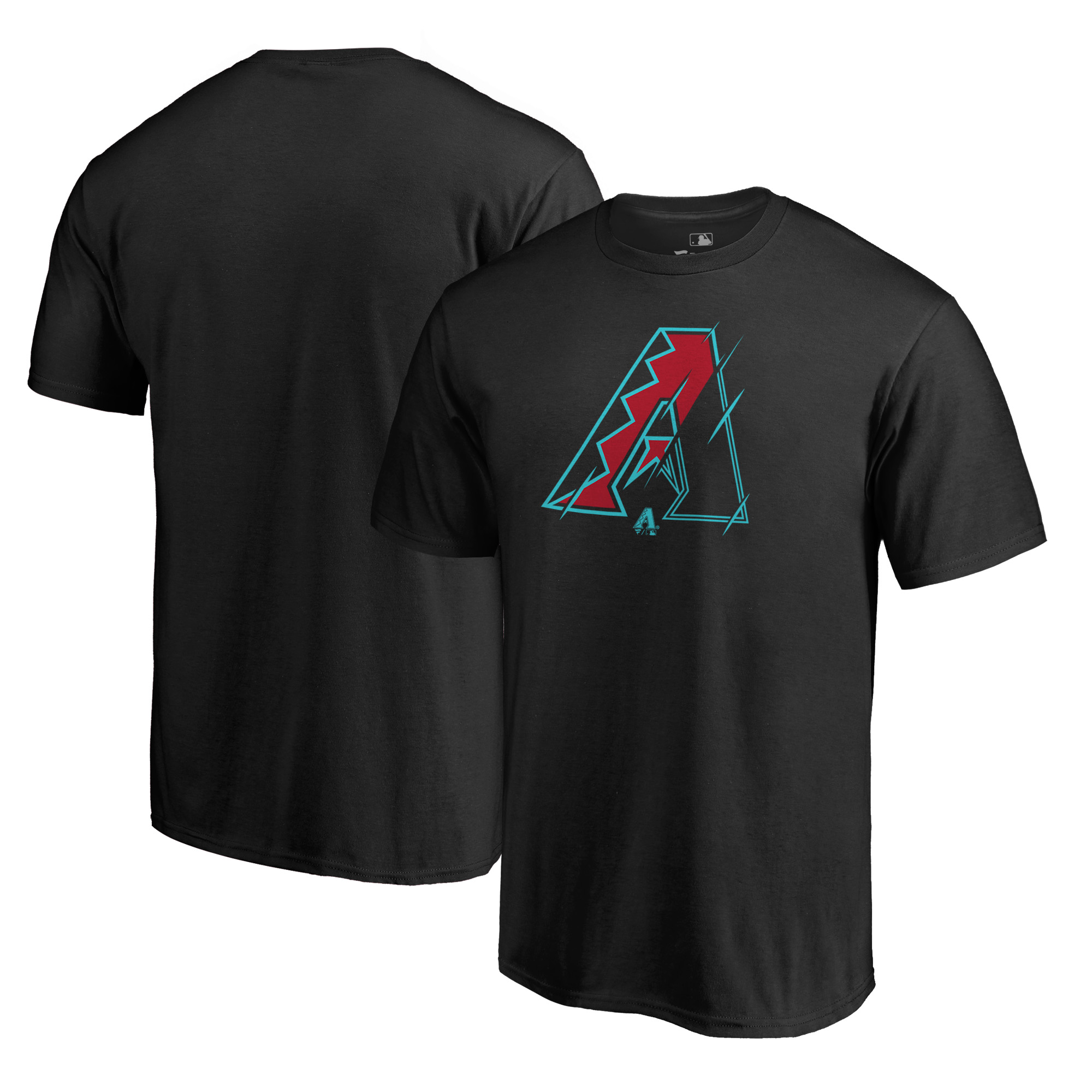 Arizona Diamondbacks Fanatics Branded X-Ray T-Shirt - Black