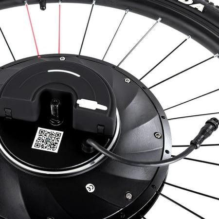 Gymax 36V 240W 26''Front Wheel Electric Bicycle Motor Kit E-Bike w