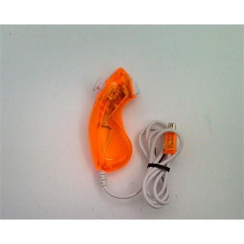 Refurbished PDP Rock Candy Wii Controller Nunchuk - Orange