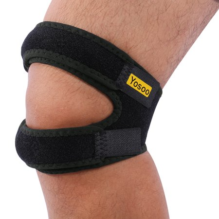 8e01d8fa02 Adjustable Patella Knee Strap for Knee Pain Relief for for Knee Support  Fits Running, Basketball, Outdoor Sports Help - Walmart.com