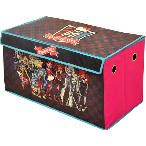 Monster High Collapsible Storage Toy Trunk
