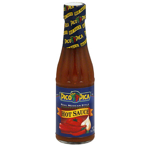***Discontinued***Pico Pica Hot Sauce, 7 oz (Pack of 6)