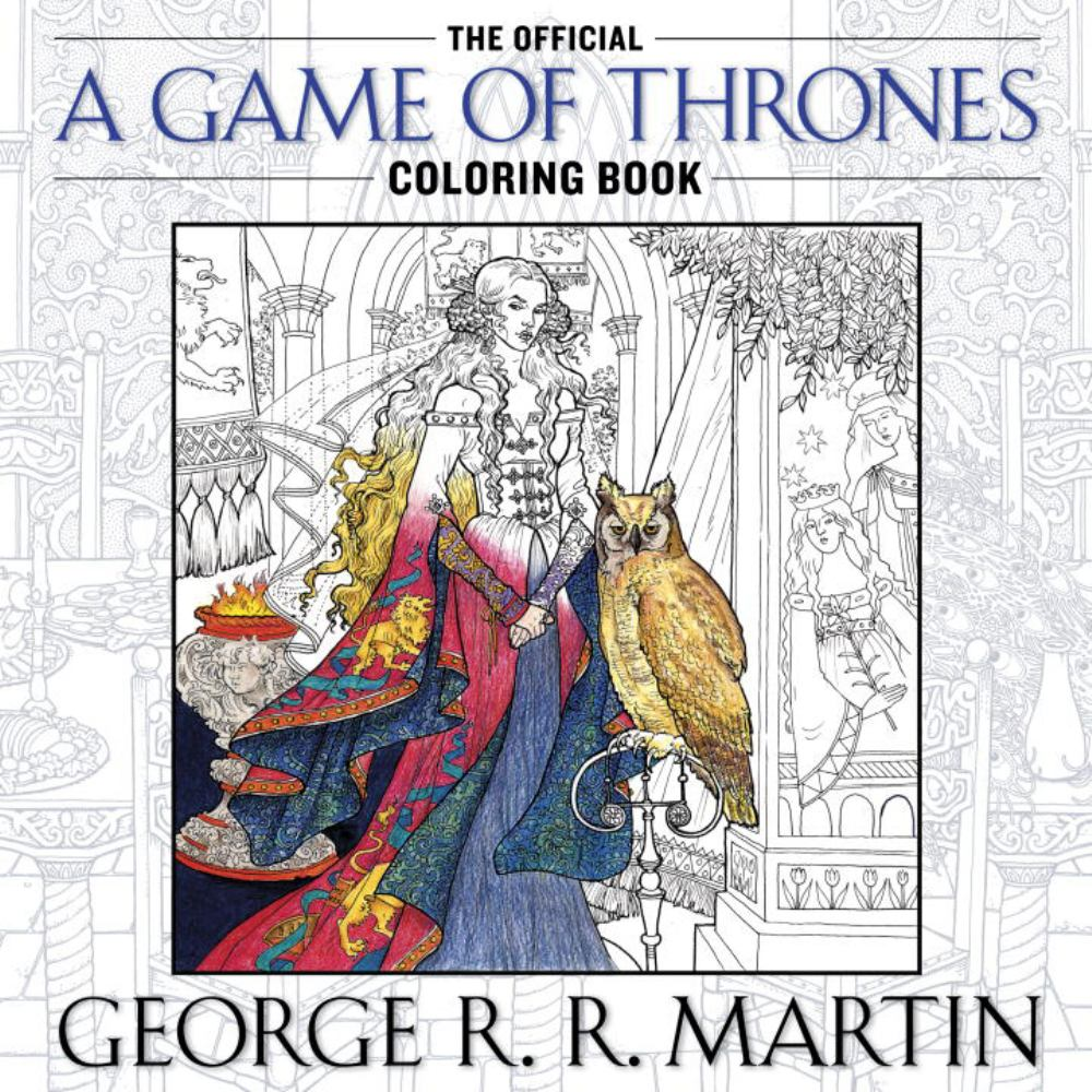 GAME OF THRONE COLORING BOOK