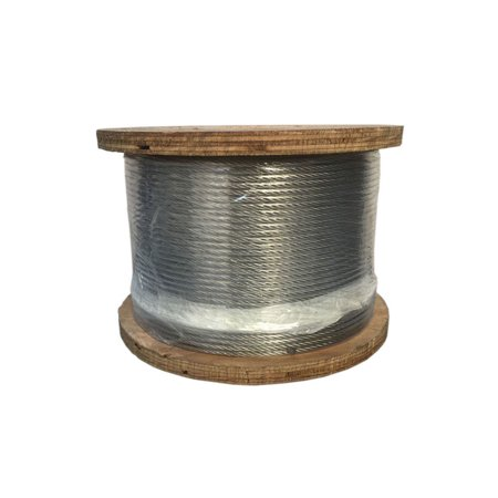 1x19 Ss Wire (250 Ft Feet Grade SS 316 STAINLESS STEEL 3/16
