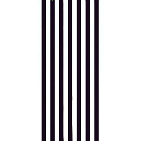 Cabana Stripes Black Color Velour Brazilian Resort Beach Towel 30x60 Inches