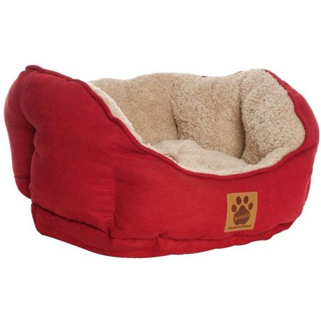 Precision Brand Clamshell Beds Dog Bed Small Red