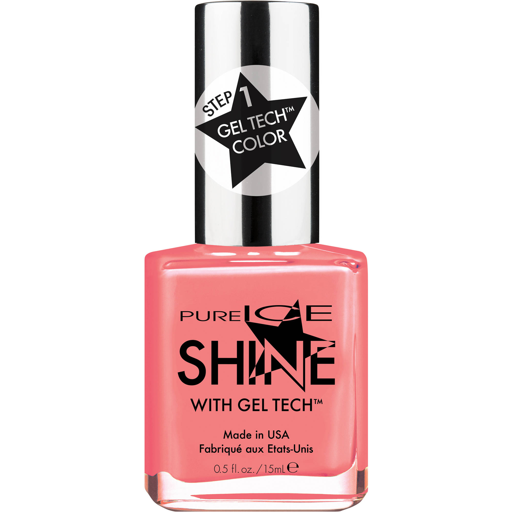 Pure Ice Shine with Gel Tech Nail Polish, My Only Sunshine, 0.5 fl oz