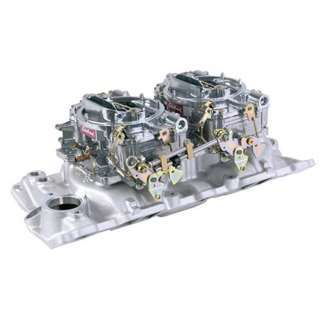 Edelbrock Small Block Chevy Dual Quad -