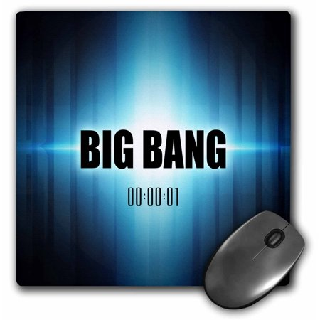 3Drose Big Bang Graphic Design Depicting The Big Bang As Original Explosion Of The Universe  Mouse Pad  8 By 8 Inches