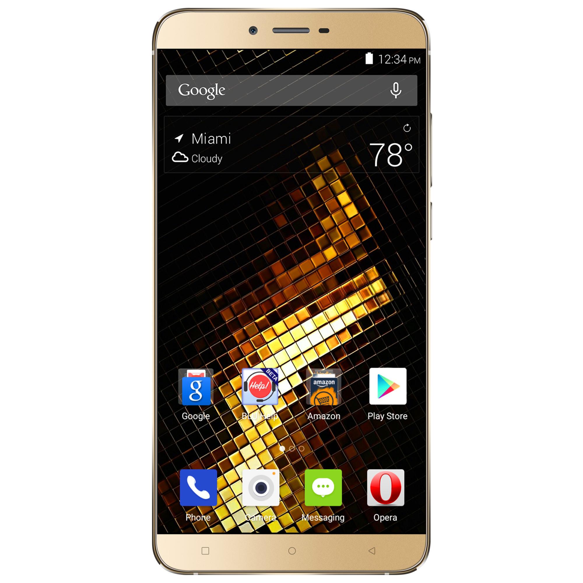 BLU Vivo 5 V0050UU 32GB Unlocked GSM 4G LTE Octa-Core Andriod Phone w  13MP Camera Gold by BLU