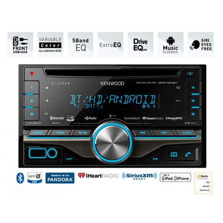 Kenwood Excelon Cd Receiver W  Built In Bluetooth And Hd Radio New Dpx791bh