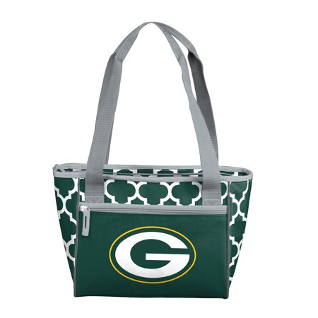 Green Bay Packers Quatrefoil 16 Can Cooler Tote ()